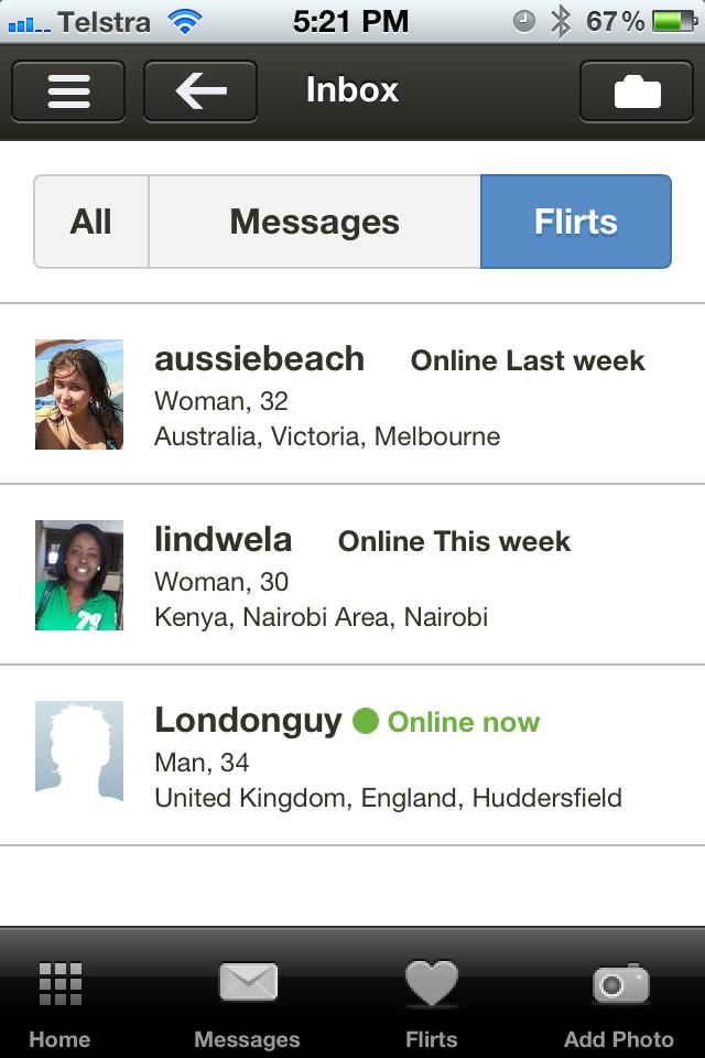 Interracial dating central app
