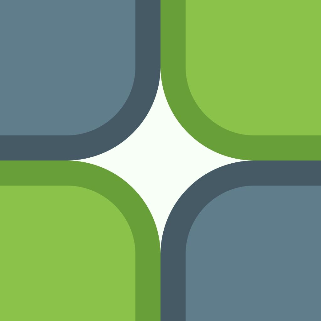 Bicolor Tiles